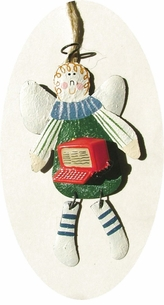 Country Angel Computer Ornament -ON SALE!