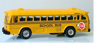 Die Cast Conventional School Bus - 4-3/4""