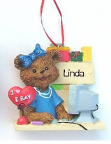 eBAY Addicts - Boy or Girl - Personalizable Ornaments  -ON SALE!