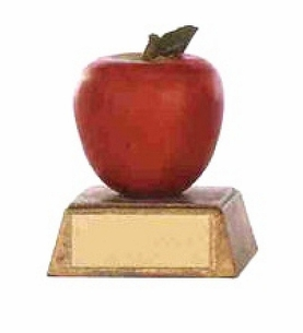 Economical Polystone Apple Award