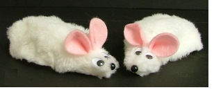 Economy Fuzzy Mouse Covers-OVERSTOCKED!