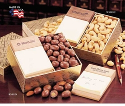 Fire Branded Wooden <BR>Desk Accessories Yummy Gift Packs