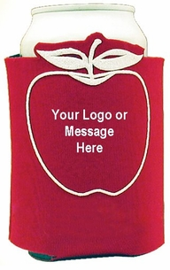 Fun Apple Can Cooler for your next Give Away or Fundraiser