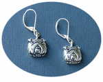 Fun Bull Dog Fashion Earrings