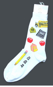 Fun Teacher & Novelty Socks- 2 pak