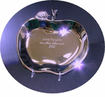 Gleaming Apple Presentation Dish - 2 sizes