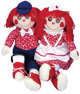 """I Got You Babe . . . "" Raggedy Ann and Andy Duet Singing Dolls"