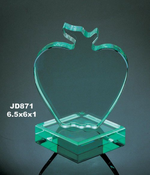 Jade Lucite Apple Award