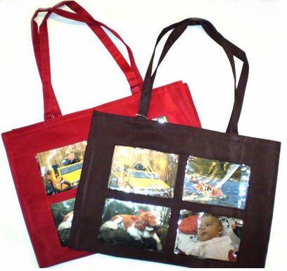 Large PICTURE / Photo Tote - CRAFTER's SPECIAL!  1/2 PRICE SALE