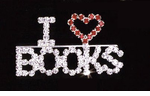 Librarian Pin - Book Reader Pin - ON SALE!