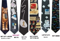 Lots of Poly Computer theme Ties!