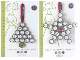 Miss Clickety Clack Old Typewriter Theme Ornaments and Jewelry -SALE -