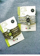 "Miss ""Clickity Clack"" Fun Holiday Bracelets & Earrings"