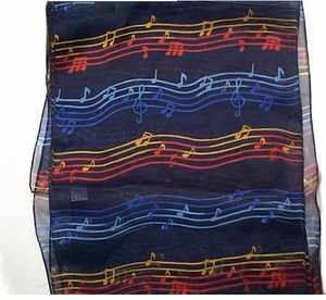 Music Theme Scarfs
