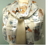 New! Cats, Dogs & Horse Scarfs
