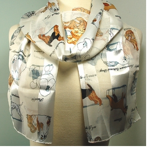 Animal Lovers... Cats, Dogs & Horse Scarfs