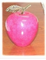 NEW! Pretty PINK Marble Apples for Breast Cancer Awareness