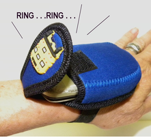 NEW!  School Bus Handy Wrist Cel Holder - CLEARANCE!