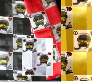 New School Bus Scarves ON SALE!