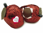 NEW! Solid Chocolate Apple/ 16 pc. Case