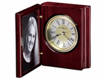 Portrait Book Clock by Howard Miller