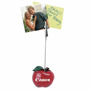 Red Apple NoteClip/Card/Photo Holder