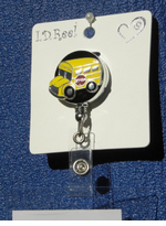 Retractable School Bus Badge Holder Reel - On Sale!