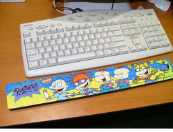 Rug Rats Colorful Wrist Rest - CLEARANCE