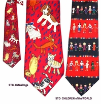 Save the Children Collector Ties
