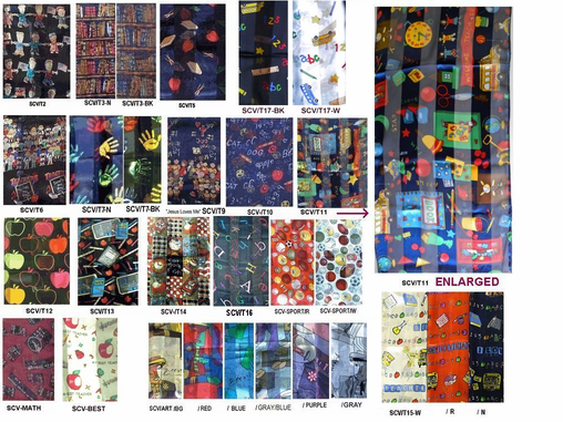 Scarves for Teachers & Techies & MORE!