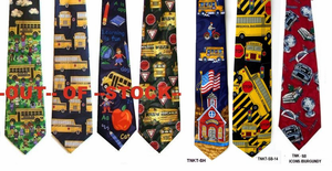 School Bus Neckties