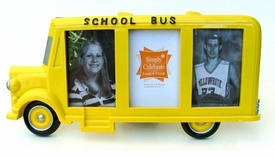 School Bus Photo / Picture Frames - Choose from 3 Styles