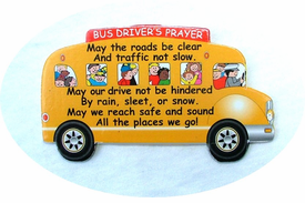 School Bus Prayer Visor - 3 PAK - CLOSEOUT