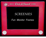 Screenie Monitor Frames