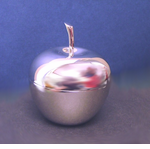 Shiny Apple Trinket Box (BLANK)