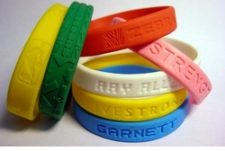 Silicone Bracelets are all the rage!