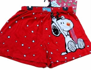 XXLg. Snoopy the Red Nosed Beagle Boxer Shorts-ON SALE!