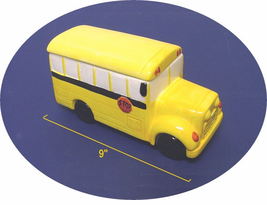 Space Saver School Bus Cookie Jar / Candy Jar