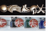 Sports Theme Slide Bracelets<BR> - Click Here