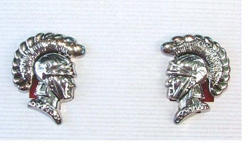 Trojan Mascot Earrings on SALE!