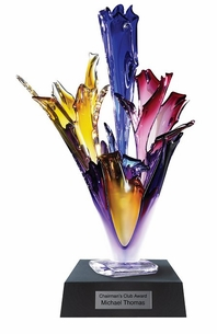 Truly Spectacular Hand Blown Glass Award