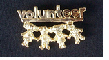 Volunteer Pin - $3.95  CLOSEOUT!-only two left!