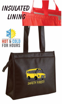 WOW!!   INSULATED Hot & Cold Zipper Totes Only $3.25!!  Low Minimum
