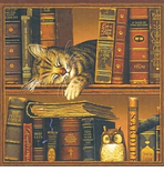 Wysocki's Cats Gifts for Book Lovers, Librarians and Cat Lovers