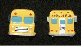 Yellow School Bus Earrings