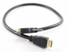 2 Ft High Speed HDMI Cable 1.3b 28AWG CL2 Cable, Black