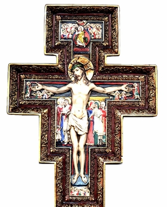 "10"" San Damiano Cross"