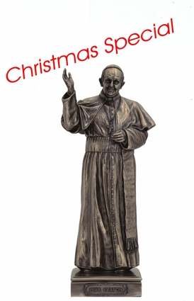 """11"""" Pope Francis Statue"""