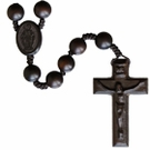 "20"" Rosary with 10mm Jujube Wood Beads"