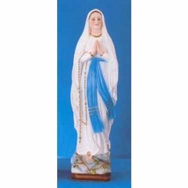 "32"" Our Lady of Lourdes Statue"